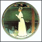 A Mother's Welcome Collector Plate by Norman Rockwell