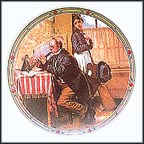 The Musician's Magic Collector Plate by Norman Rockwell