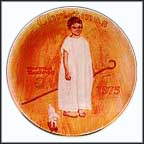 Angel With A Black Eye Collector Plate by Norman Rockwell