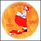 Scotty Plays Santa Collector Plate by Norman Rockwell