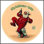 Jolly Old St. Nick Collector Plate by Norman Rockwell