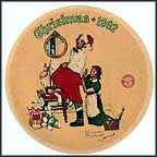 The Christmas Surprise Collector Plate by Norman Rockwell