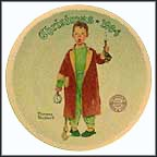Christmas Marvel Collector Plate by Norman Rockwell