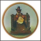 Ye Glutton Collector Plate by Norman Rockwell