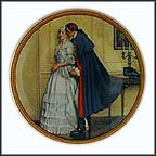 Unexpected Proposal Collector Plate by Norman Rockwell MAIN