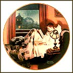 Doorway To The Past Collector Plate by Norman Rockwell