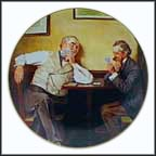 Best Friends Collector Plate by Norman Rockwell