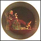 Evening's Repose Collector Plate by Norman Rockwell