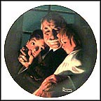 Bedtime Story Collector Plate by Norman Rockwell