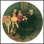 The Family Doctor Collector Plate by Norman Rockwell