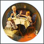 The Gourmet Collector Plate by Norman Rockwell