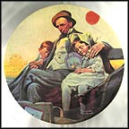 Home From The County Fair Collector Plate by Norman Rockwell