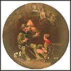The Old Scout Collector Plate by Norman Rockwell