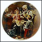 The Toymaker Collector Plate by Norman Rockwell