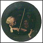 The Master Violinist Collector Plate by Norman Rockwell