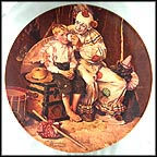 Sharing A Smile Collector Plate by Norman Rockwell