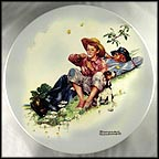 Summer Daze Collector Plate by Norman Rockwell MAIN