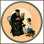 The Sea Captain Collector Plate by Norman Rockwell