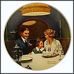 The Birthday Wish Collector Plate by Norman Rockwell