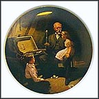 Grandpa's Treasure Chest Collector Plate by Norman Rockwell