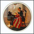 A Mother's Pride Collector Plate by Norman Rockwell