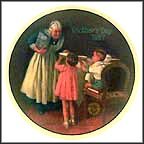 Grandma's Surprise Collector Plate by Norman Rockwell