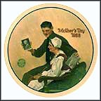 My Mother Collector Plate by Norman Rockwell