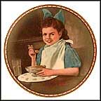 Good Intentions Collector Plate by Norman Rockwell