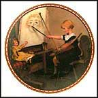 Serious Business Collector Plate by Norman Rockwell