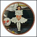 Sitting Pretty Collector Plate by Norman Rockwell