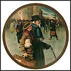 A Helping Hand Collector Plate by Norman Rockwell