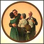 The Homecoming Collector Plate by Norman Rockwell