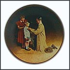 Ready For The World Collector Plate by Norman Rockwell
