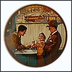 A Time To Keep Collector Plate by Norman Rockwell