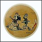 Promenade In Paris Collector Plate by Norman Rockwell