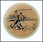 The Walk At The Rhine Collector Plate by Norman Rockwell