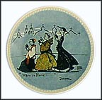 When In Rome Collector Plate by Norman Rockwell