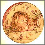 Monday's Child Collector Plate by Pam Cooper