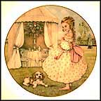 Tuesday's Child Collector Plate by Pam Cooper