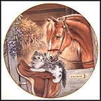 Stablemates Collector Plate by Pam Cooper MAIN