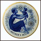 Mother And Child Collector Plate
