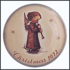 Angel With Flute Collector Plate by Berta Hummel