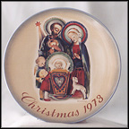 The Nativity Collector Plate by Berta Hummel