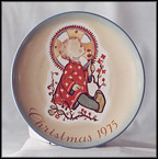 Christmas Child Collector Plate by Berta Hummel