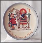 Sacred Journey Collector Plate by Berta Hummel