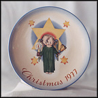 Herald Angel Collector Plate by Berta Hummel