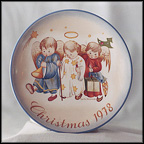 Heavenly Trio Collector Plate by Berta Hummel