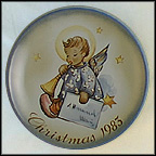 Angelic Messenger Collector Plate by Berta Hummel