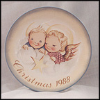 Cheerful Cherubs Collector Plate by Berta Hummel
