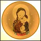 Tranquility Collector Plate by Berta Hummel